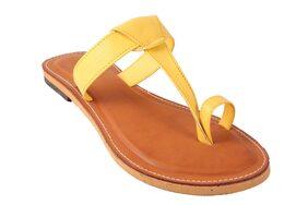 Gerief Women's Yellow Flat