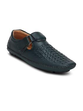 Get Glamr Men Navy Blue Casual Shoes - Gt-sr-2529-36
