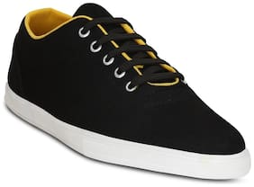 Get Glamr Canvas Black Men Sneakers