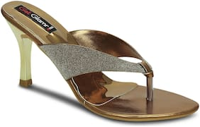 Get Glamr Women Copper Sandals