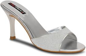 Get Glamr Women Silver Sandals