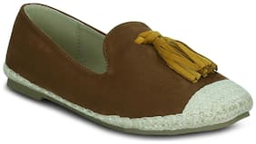 Get Glamr Women Brown Casual Shoes