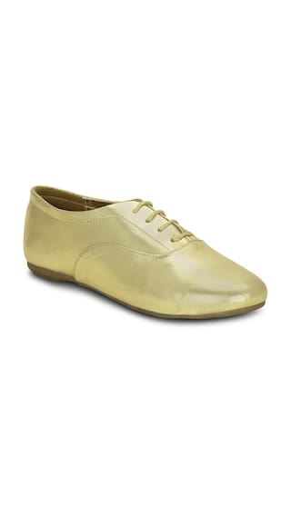cae765a6be9 Buy Get Glamr Women Gold Casual Shoes Online at Low Prices in India ...
