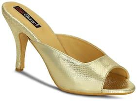 Get Glamr Golden Heels