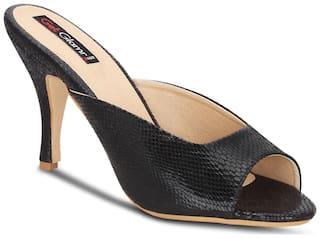 Get Glamr Women's Black Heels (GET(GET-4545)-4 UK