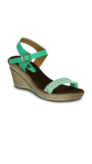 Get Glamr Green Wedges