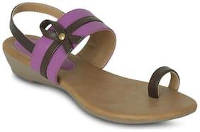 Gisole Purple Wedges