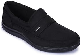 Liberty Men Black Casual Shoes