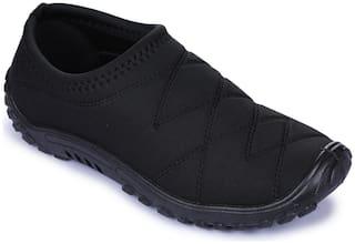 Liberty Men Black Casual Shoes - GOLF_PVC CFB_BLACK