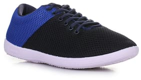 Liberty Gliders Men Black Sneakers - Eagle-1_mesh_n.blue