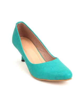 745dfe0d65f Buy Glitzy Galz Green Heels Online at Low Prices in India ...