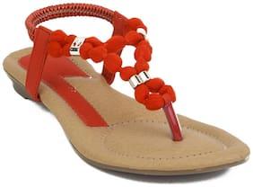 Glitzy Galz Women Yellow Sandals
