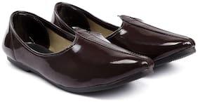 Global richMen's Patent Faux Leather Jutti's, Nagra's and Mojari's