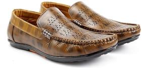 Inlazer Men Brown Loafers