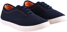GLOBALITE Men Navy blue Casual Shoes