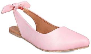 GNIST Back Bow Pink  Sandals