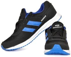 Goldstar Men Running Shoes ( Black )