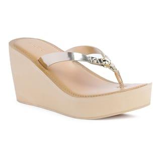 05bee4700c7 Buy Aldo Women Gold Sandals Online at Low Prices in India ...