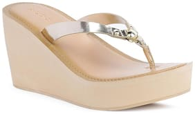 Aldo Women Gold Sandals