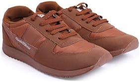 Goldstar Men Running Shoes ( Brown )