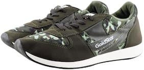 Goldstar Men Running Shoes ( Green )