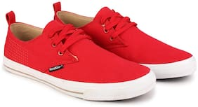 Goldstar Men Red Casual Shoes