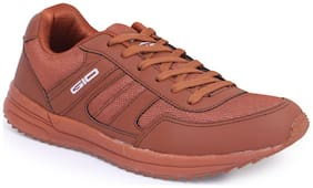 Goldstar Men Brown Running  Shoes