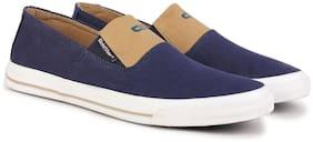 Goldstar Men Navy Blue & Beige Casual Shoes