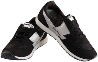 Goldstar Men Running Shoes ( Black )