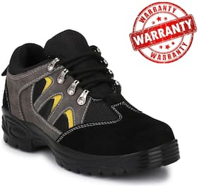 Graphene Pure Leather Steel Toe Safety Shoe, R 503