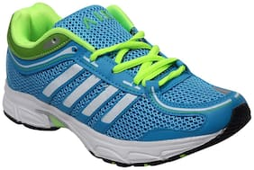 Green Synthetic Leather Sport Shoes