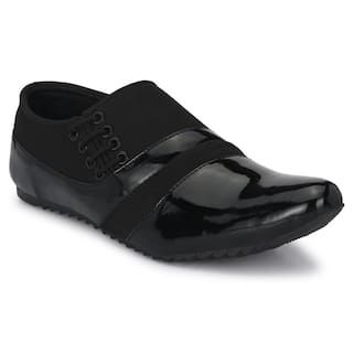 Groofer Men Black Casual Shoes - KK-700
