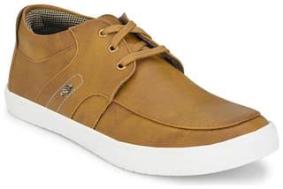 Groofer Men Tan Casual Shoes - KK-160