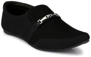 Groofer Men Black Casual Shoes