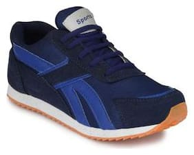 Groofer Men's Blue Running Sport shoes