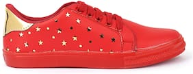 GSR Women Red Sneakers