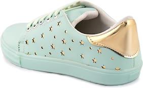 GSR Women Green Sneakers