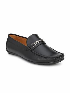 Guava Men Black Loafers - GV15JA568