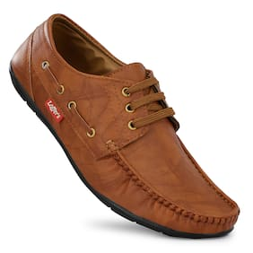 GULASS WICK Men Tan Loafers