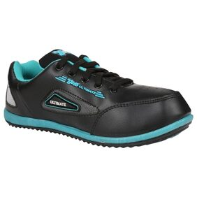Guys and Dolls Women Black Green Synthetic Leather Sport Shoes