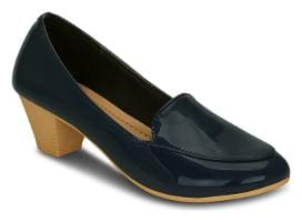 Get Glamr Blue Heels