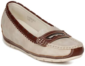 Healers By Liberty Women Beige Loafers