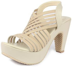 Heels Women Cream Digni