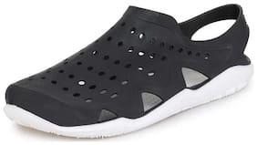 HEXA Men Black Sandals & Floaters