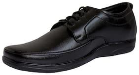 HIKBI Men Black Derby Formal Shoes - 918BK