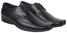 HIKBI Men Black Derby Formal Shoes - 1133BK