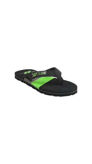 82841f032cf4 Buy Hilux Men Black Flipflop Online at Low Prices in India ...