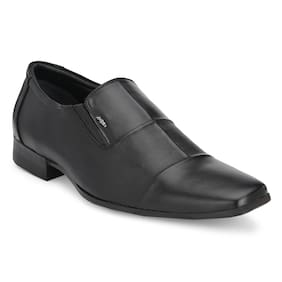 Men Black Slip-On Formal Shoes ,Pack Of 1 Pair