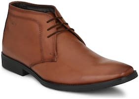 Hitz Men Tan Formal Shoes