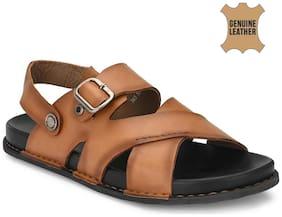 Hitz Men Tan Sandals